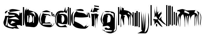 Astigama Tizm Font LOWERCASE
