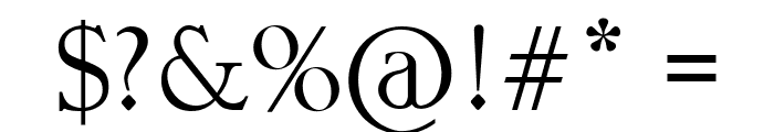 Astina Font OTHER CHARS