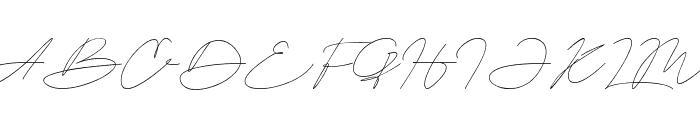 Astina Font UPPERCASE