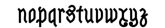 Astloch Bold Font LOWERCASE