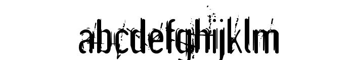 Astonished Font LOWERCASE