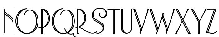 Astoria Deco Medium Font UPPERCASE