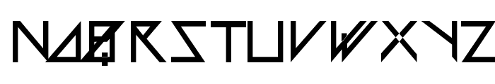 Astra Font LOWERCASE