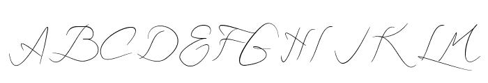 Astralasia Font UPPERCASE