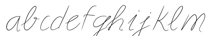Astralasia Font LOWERCASE
