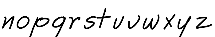 Astrid Font LOWERCASE