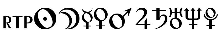 Astro Font UPPERCASE