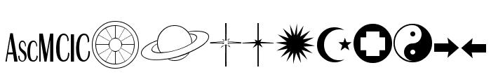 Astro Font LOWERCASE