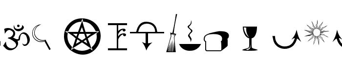 Astrological Font UPPERCASE