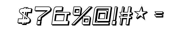 Astron Boy Wonder Font OTHER CHARS