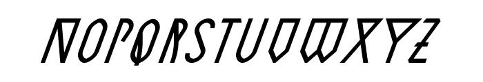 AstronmicaItalic Font LOWERCASE