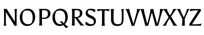 Asul Regular Font UPPERCASE