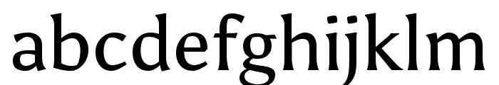 Asul Regular Font LOWERCASE