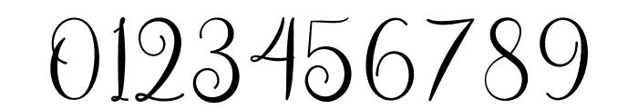 Asyiela Demo Regular Font OTHER CHARS
