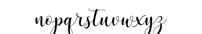 Asyiela Demo Regular Font LOWERCASE