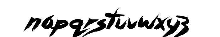 Asylum Mansion Font LOWERCASE