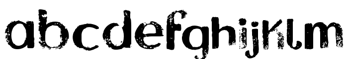 Asylum Regular Font LOWERCASE
