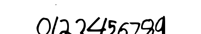 asdfghjkl Font OTHER CHARS