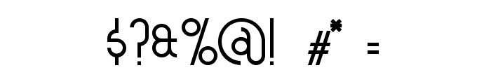 asymek Font OTHER CHARS