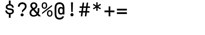 ASM Regular Font OTHER CHARS