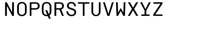 ASM Regular Font UPPERCASE
