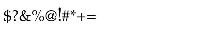 ASV Codar Light Font OTHER CHARS