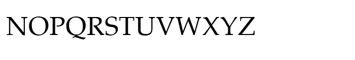 ASV Codar Light Font UPPERCASE