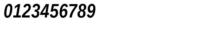 Ascender Sans Narrow WGL Bold Italic Font OTHER CHARS