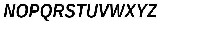 Ascender Sans Narrow WGL Bold Italic Font UPPERCASE