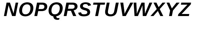 Ascender Sans WGL Bold Italic Font UPPERCASE