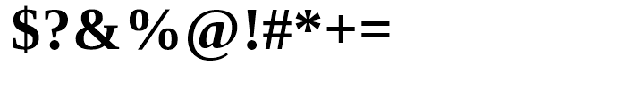 Ascender Serif WGL Bold Font OTHER CHARS