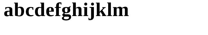 Ascender Serif WGL Bold Font LOWERCASE