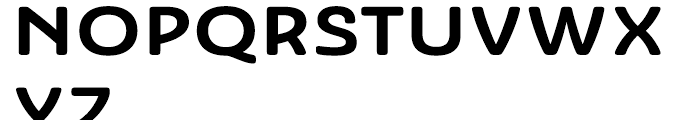 Ashemore Softened Ext Bold Font UPPERCASE