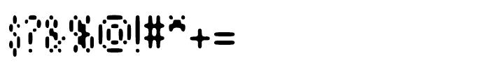 Aspersion Regular Font OTHER CHARS