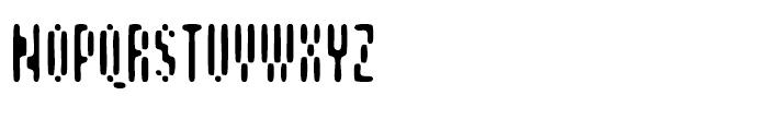 Aspersion Regular Font UPPERCASE