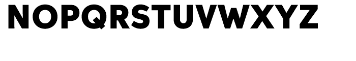 Aspira Black Font UPPERCASE