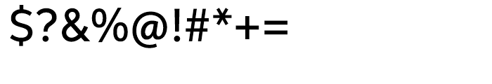 Aspira Medium Font OTHER CHARS
