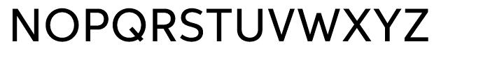 Aspira Medium Font UPPERCASE