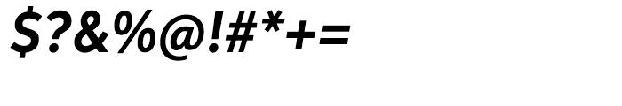 Aspira Nar Bold Italic Font OTHER CHARS