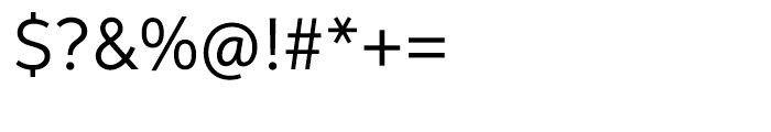 Aspira Regular Font OTHER CHARS