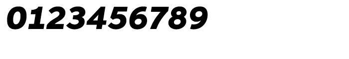 Aspira Wide Black Italic Font OTHER CHARS