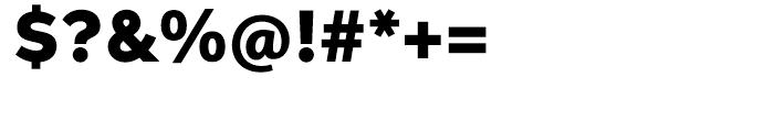 Aspira Wide Black Font OTHER CHARS
