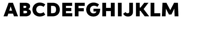 Aspira Wide Black Font UPPERCASE