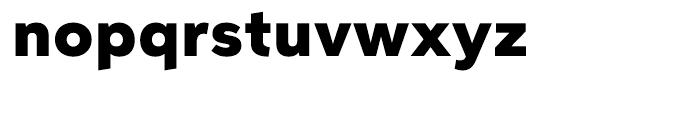 Aspira Wide Black Font LOWERCASE