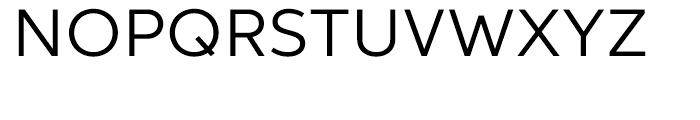 Aspira Wide Regular Font UPPERCASE