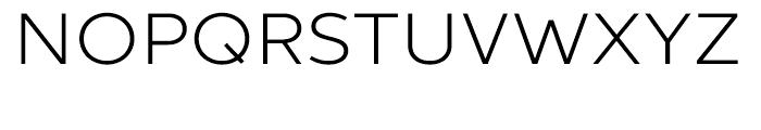 Aspira XWide Light Font UPPERCASE