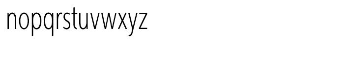 Aspira XXXNar Thin Font LOWERCASE