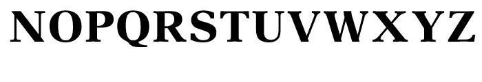 Aster Demi Font UPPERCASE