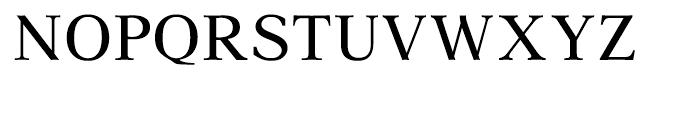 Aster Roman Font UPPERCASE