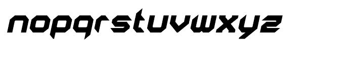 AstroNaut Black Italic Font LOWERCASE